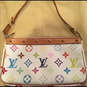 Vintage lightly Used Louis Vuitton Patina Pochette